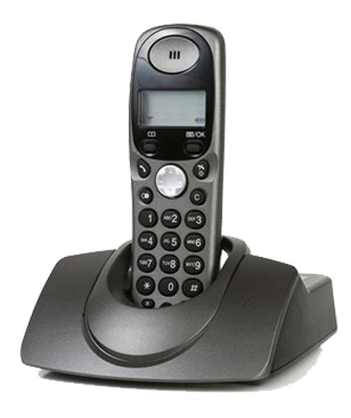 Image of a Wireless Landline Phone